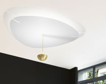 Flow ceiling light by bs.living