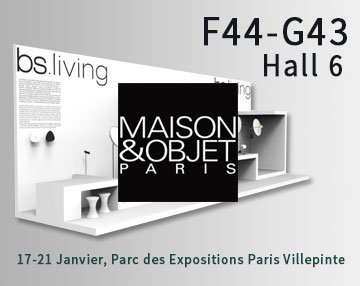 bs.living au salon Maison&Objet Paris